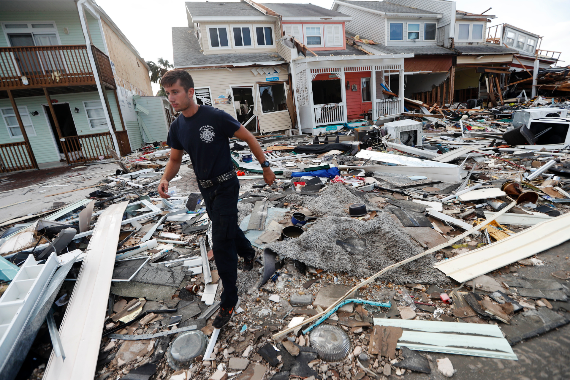 AP Photos: Hurricane leaves Florida's Mexico Beach in shreds