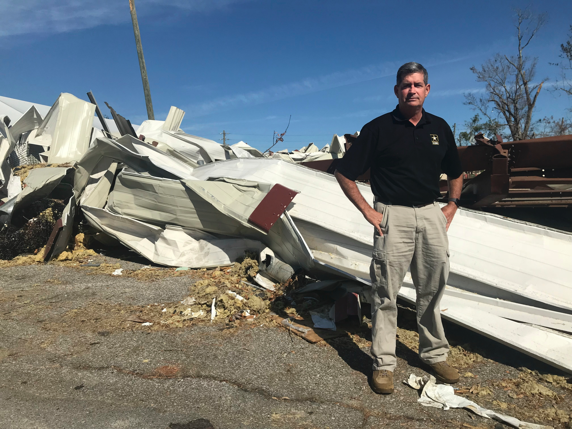 Florida's Panama City, torn apart by Hurricane Michael, now managed by 2-star Army general