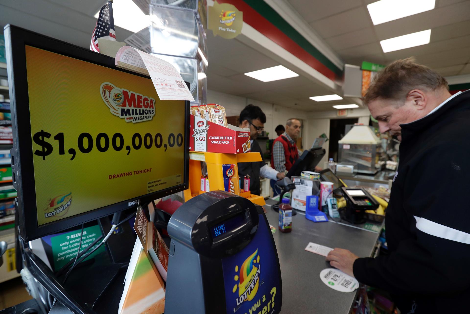 Sales are brisk as Mega Millions jackpot hits $1.6 billion