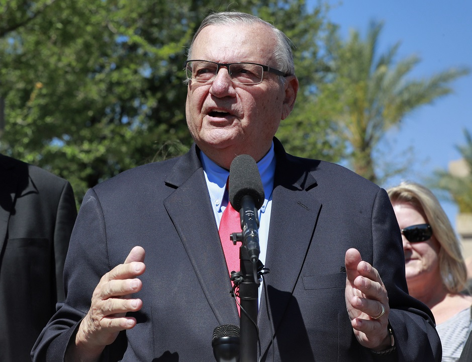 Arpaio files libel suit against The New York Times