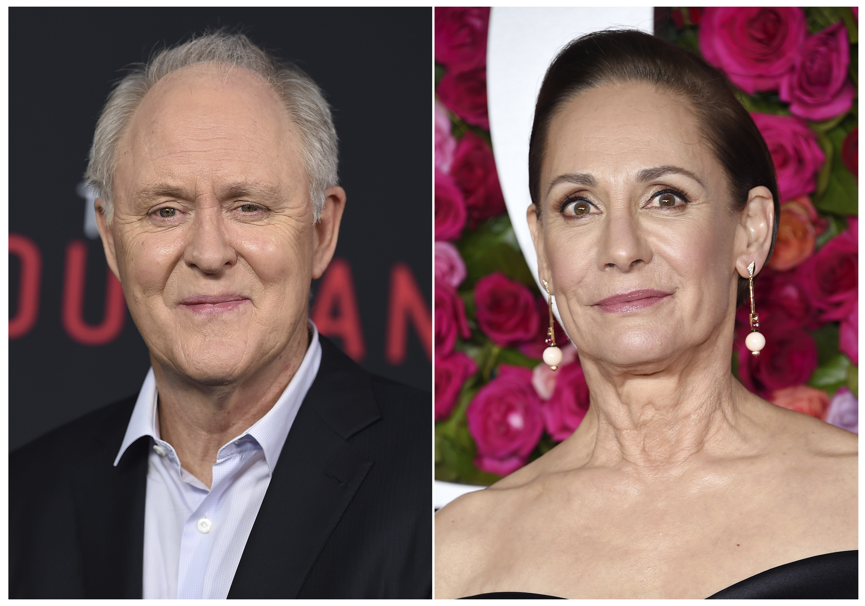 Laurie Metcalf and John Lithgow tapped to play Hillary and Bill Clinton on Broadway