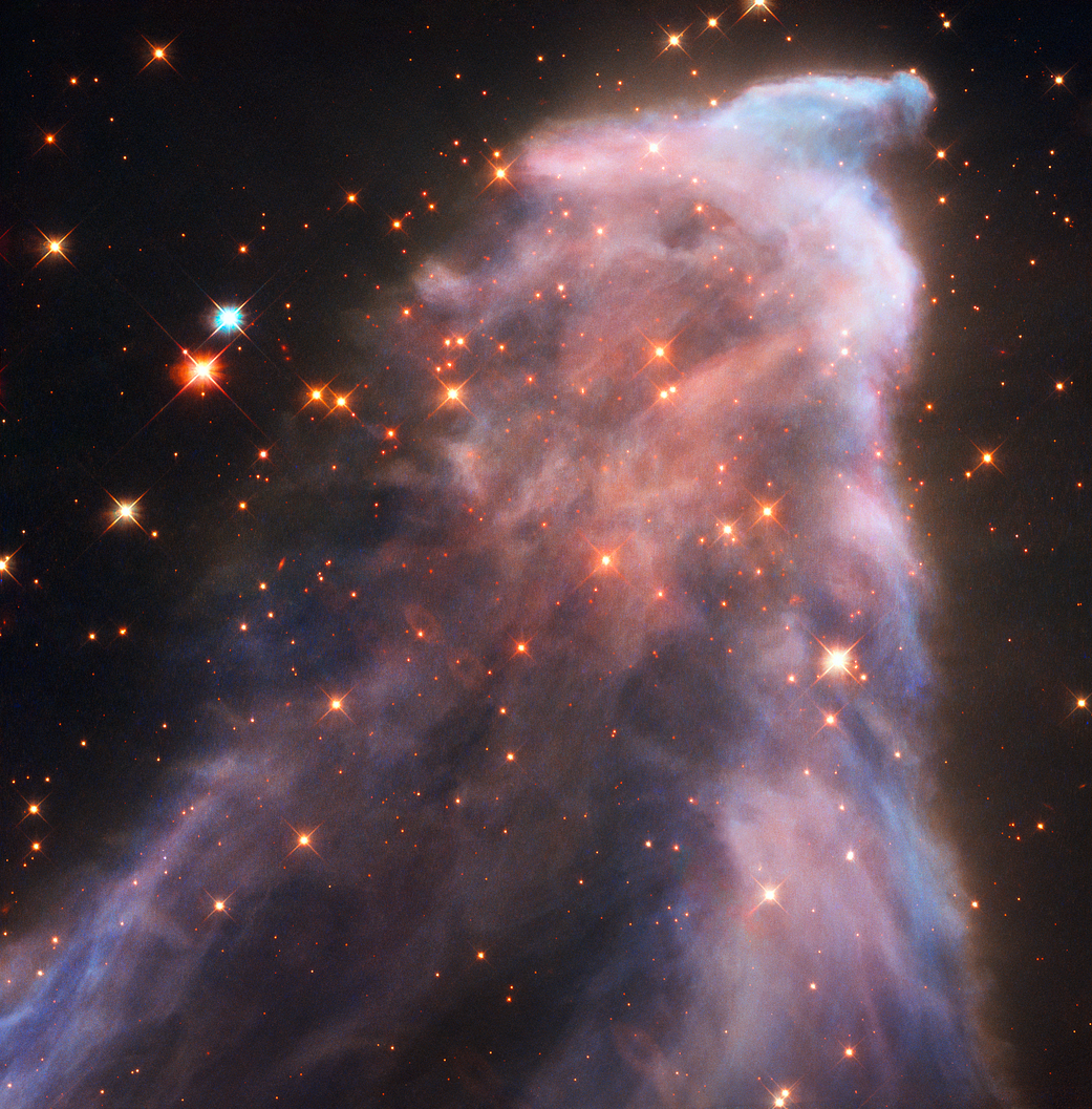 'Ghost' in space: NASA's Hubble telescope captures stunning nebula pic