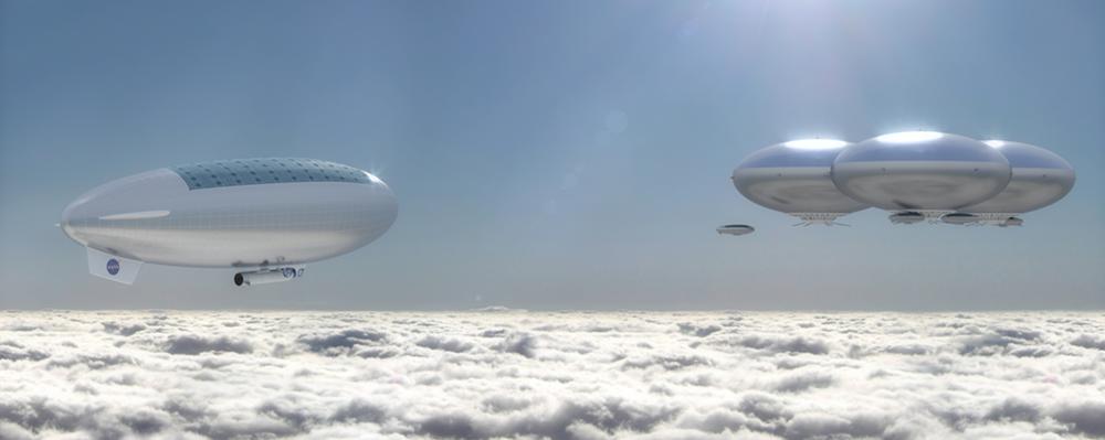 NASA eyes stunning 'cloud city' airship concept to explore Venus
