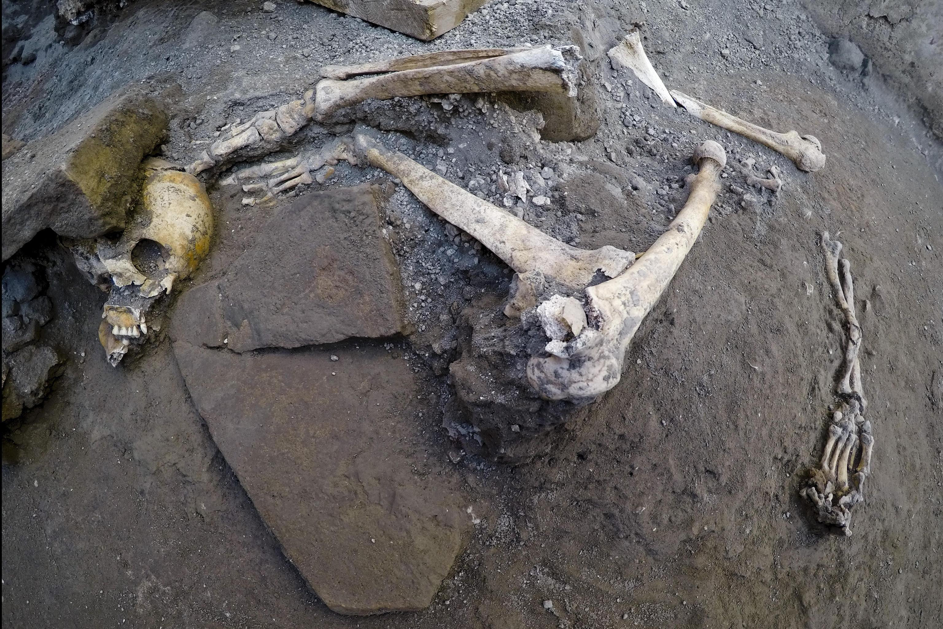 Gruesome Pompeii discovery: Ancient city reveals grisly secret