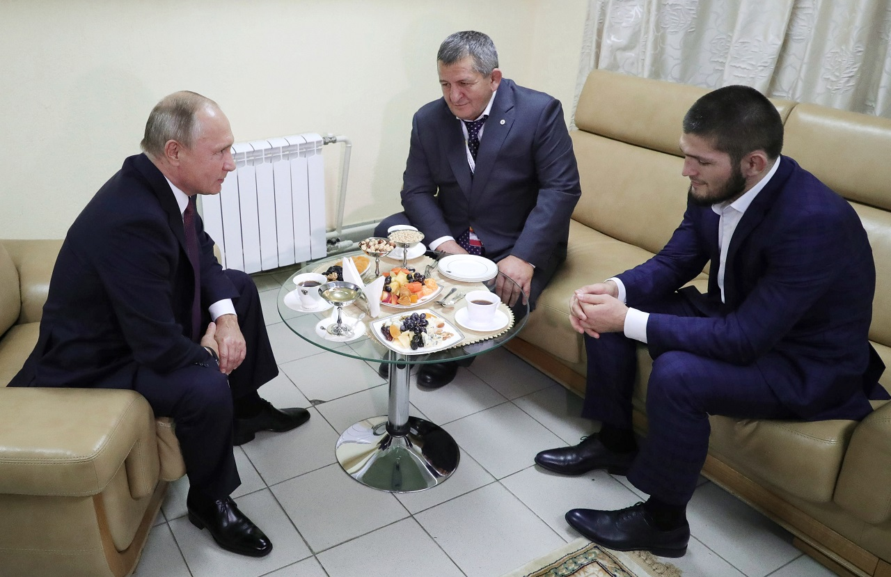 Putin praises Nurmagomedov for 'convincing' UFC victory, defends fighter's actions in post-fight brawl