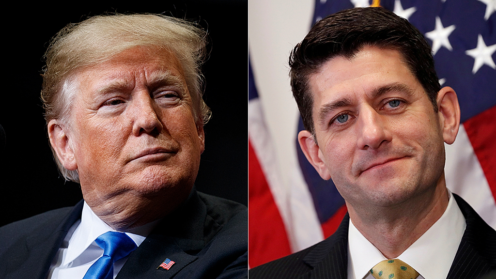 Westlake Legal Group donald-trump-paul-ryan-ap-reuters Trump trashes 'lame duck failure' Paul Ryan in response to new criticisms Joseph Wulfsohn fox-news/tech/companies/twitter fox-news/politics/house-of-representatives/republicans fox-news/person/donald-trump fox-news/entertainment/media fox news fnc/politics fnc article 05b4b584-47a9-5823-a75c-1a7d4b002632