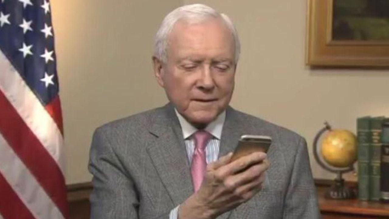 Hatch's 'T-Rex' tweet an apparent swipe at Warren