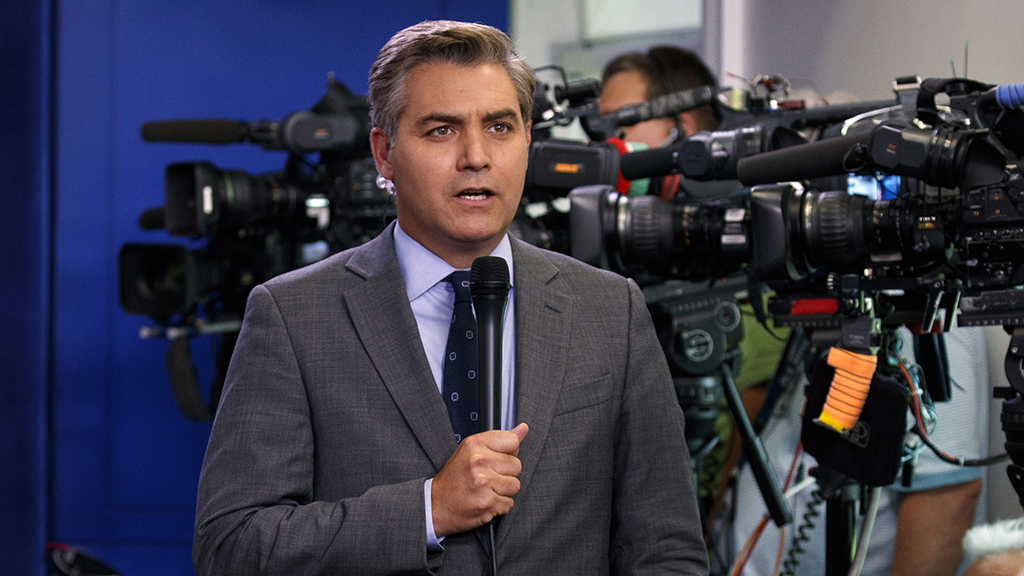 CNN's Jim Acosta says White House greeting end of Mueller probe with 'a fair amount of glee' thumbnail