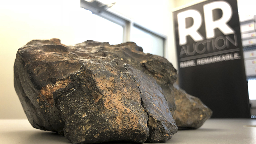 12-pound lunar meteorite, dubbed 'The Moon Puzzle,' up for sale, auction house says