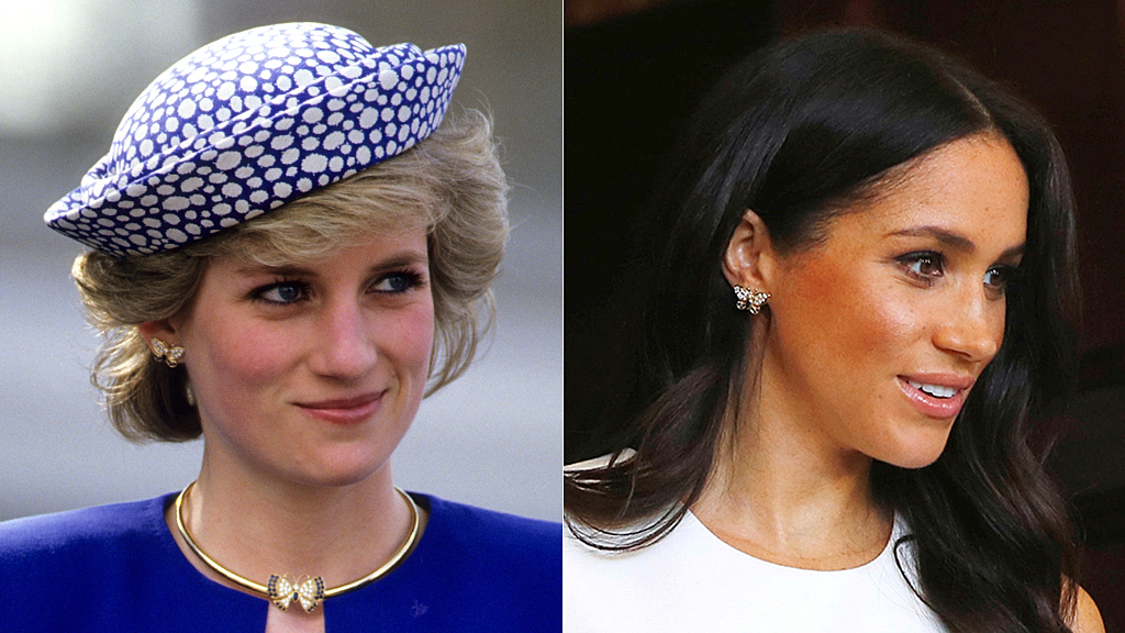 Meghan Markle wears Princess Diana's jewelry in Australia during first outing ...