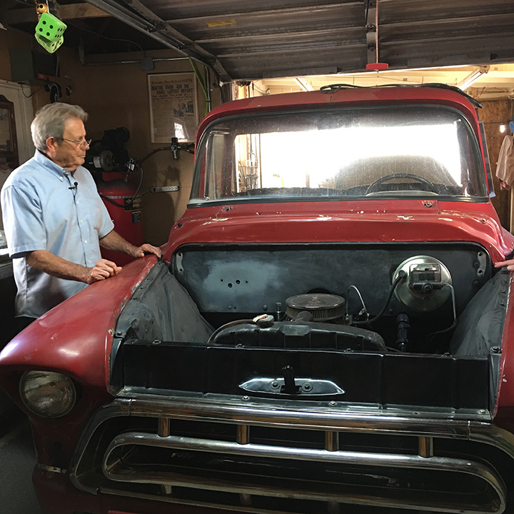 Classic 1957 Chevy pickup stolen from California years ago found in Mexican junkyard