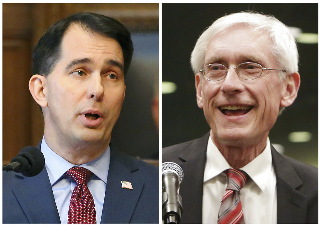 Scott Walker concedes to Democrat Tony Evers in Wisconsin gubernatorial race