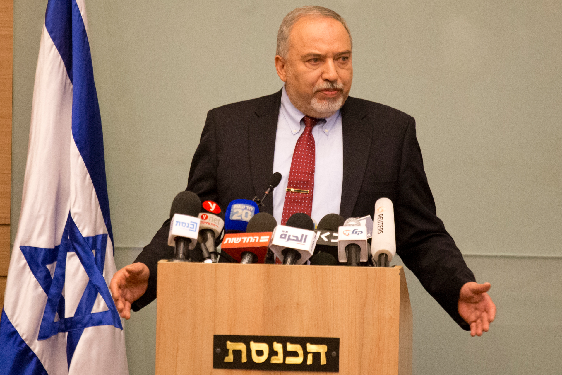 Israeli elections seem likely after Lieberman's resignation