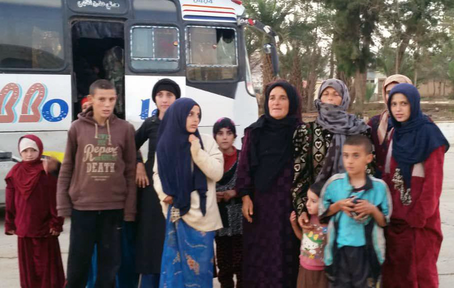 2 killed children among liberated Syrian hostages held by IS