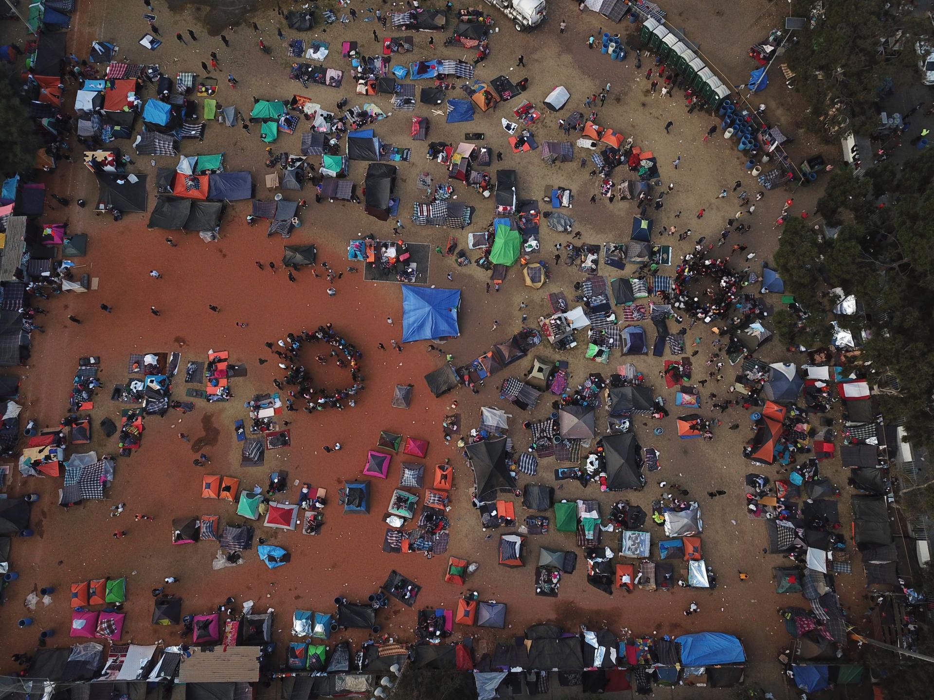 Tijuana declares humanitarian crisis as migrant group that split from caravan pushes toward border