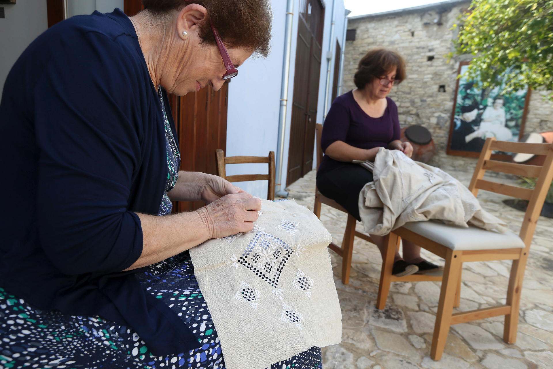 A stitch in time: Cyprus' Lefkaritiko lace faces grim future