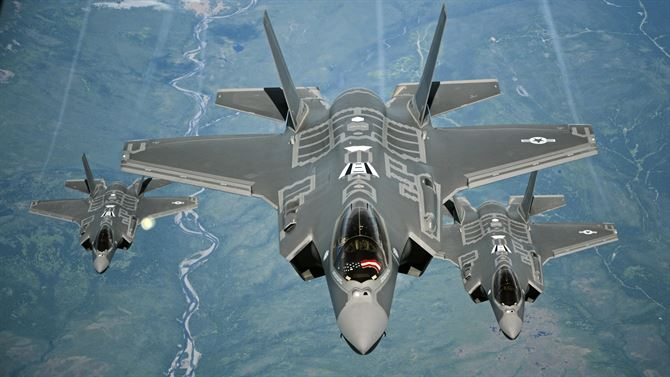 F-35 Preps for Weapons Upgrade by Dropping New Bombs