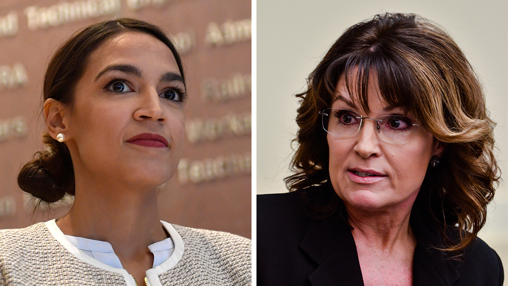 Alexandria Ocasio-Cortez compares Sarah Palin to 'grandpa emails' in Twitter feud