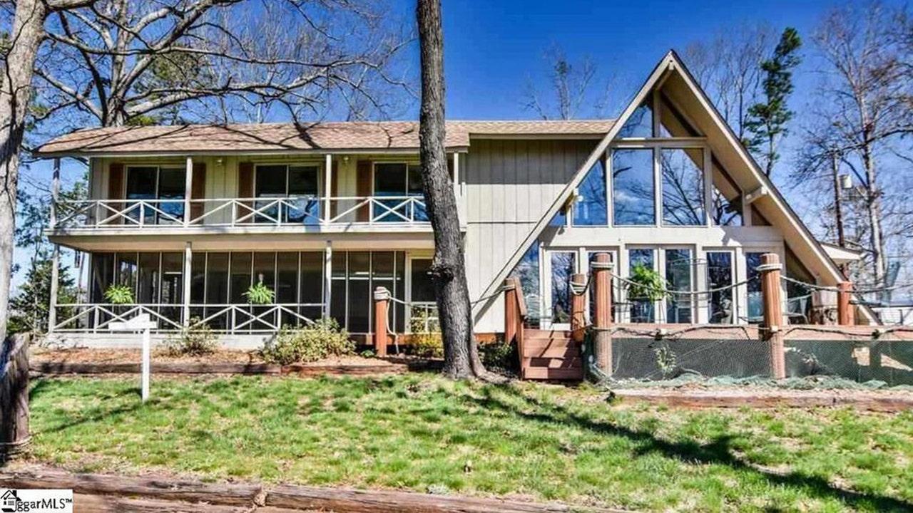 Rustic, lakeside South Carolina vacation home asking under $200K