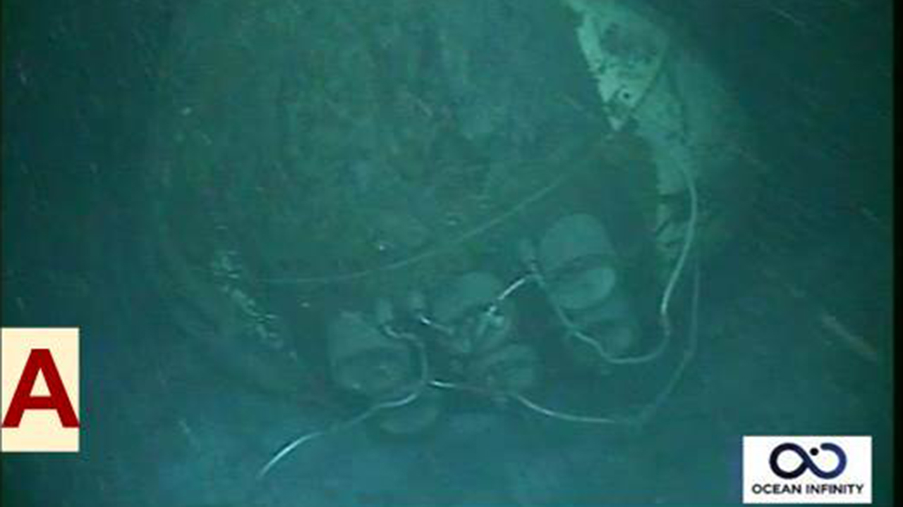 Argentine Navy submarine may have 'imploded'; photos show wreckage on sea floor