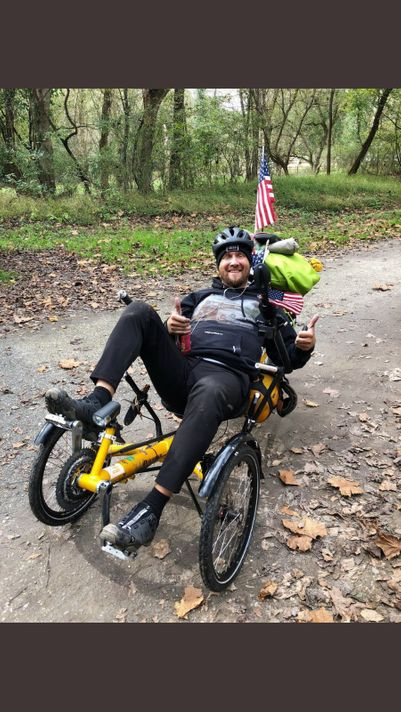 Cyclist biking across US to raise money for childhood cancer dies in accident