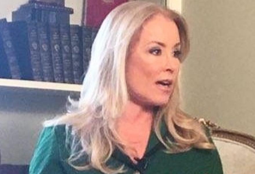 Democrat's ex-mistress says she's rebuilt her life since tabloid scandal, now focus of film