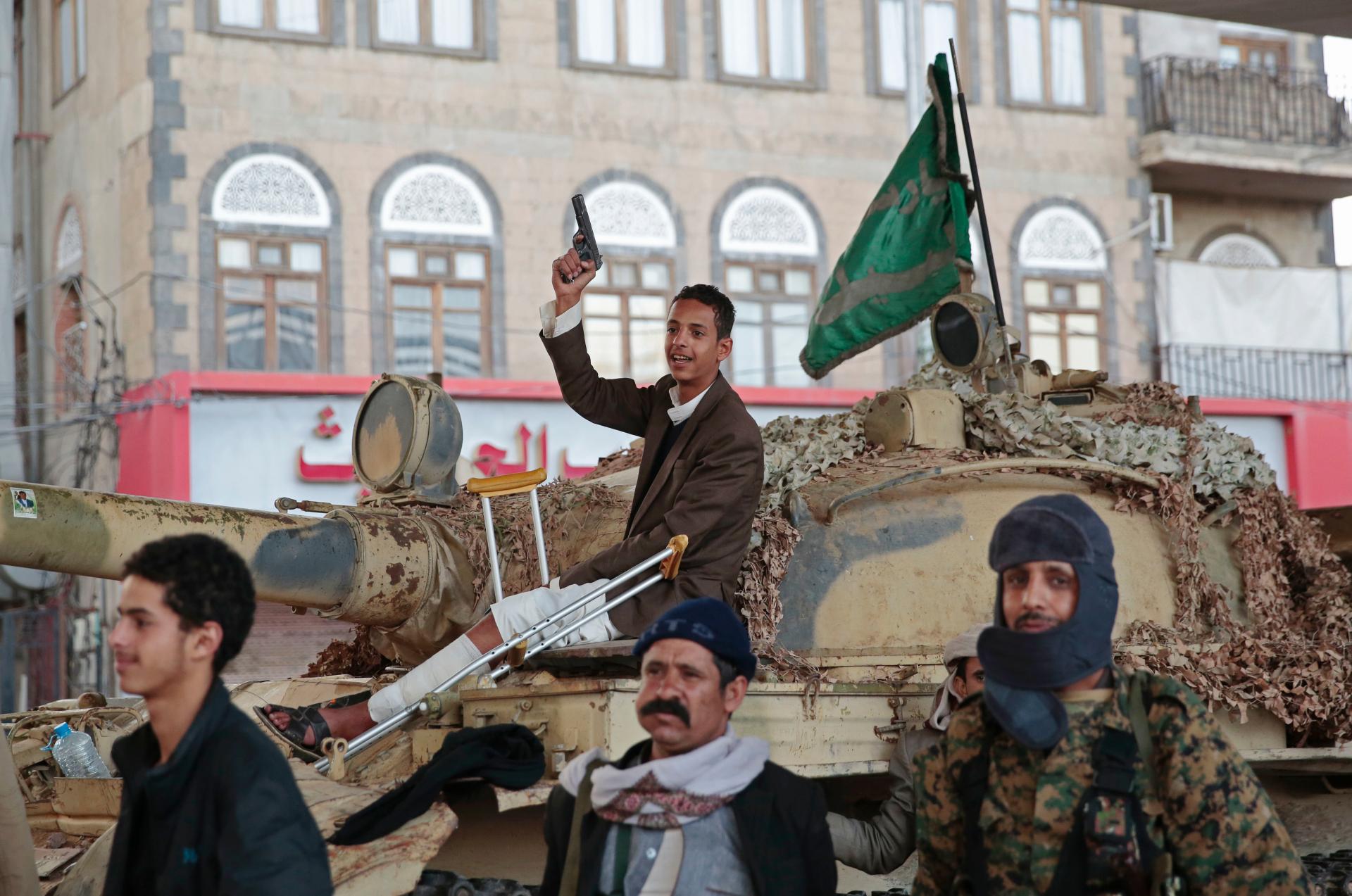 Yemen's Houthi rebels announce halt in attacks on Saudi Arabia