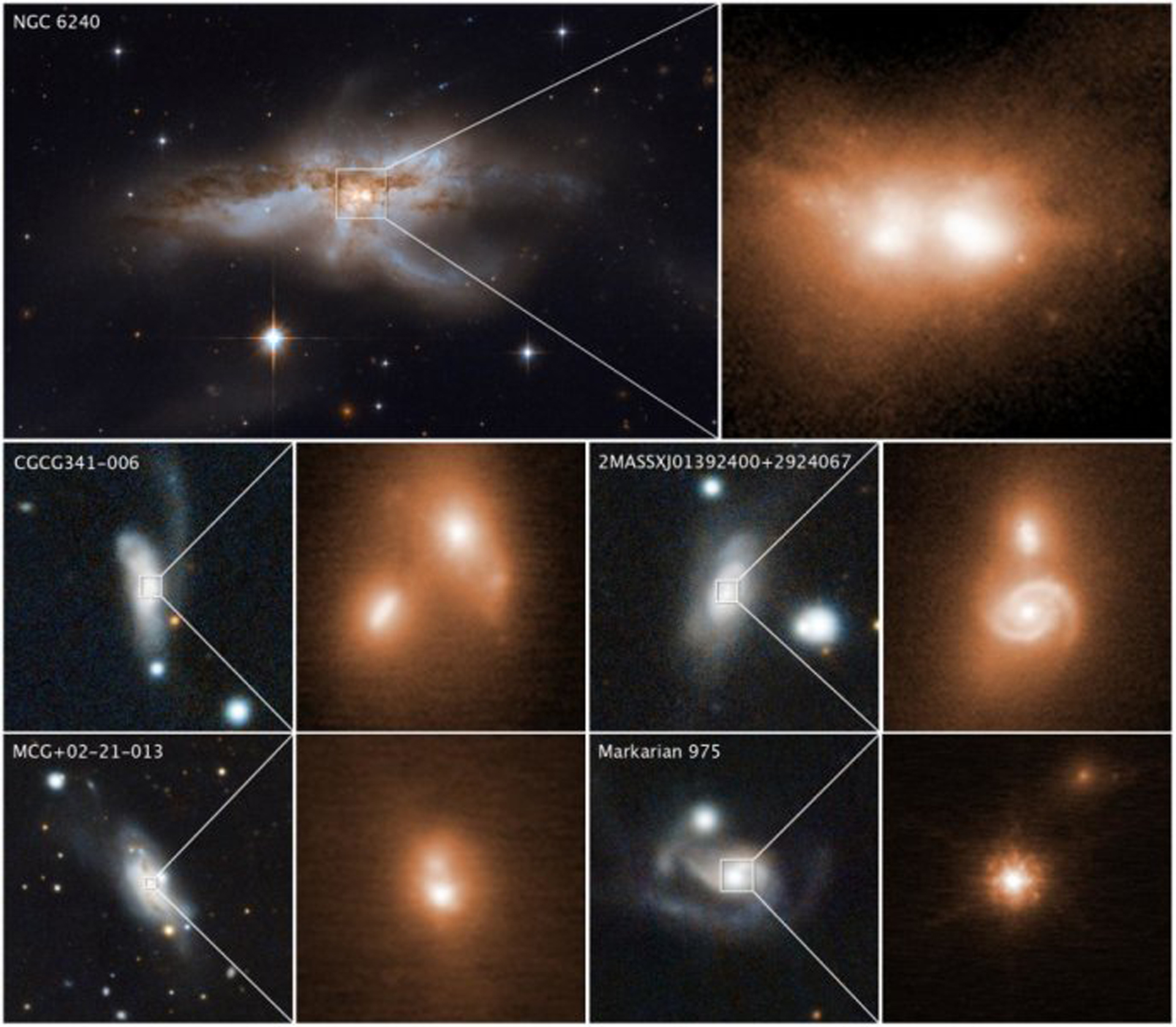 End of days? Telescope images reveal what happens when galaxies collide