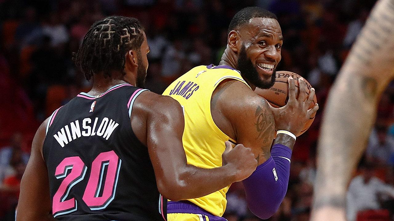 LeBron James drops 51 as Lakers burn Miami Heat