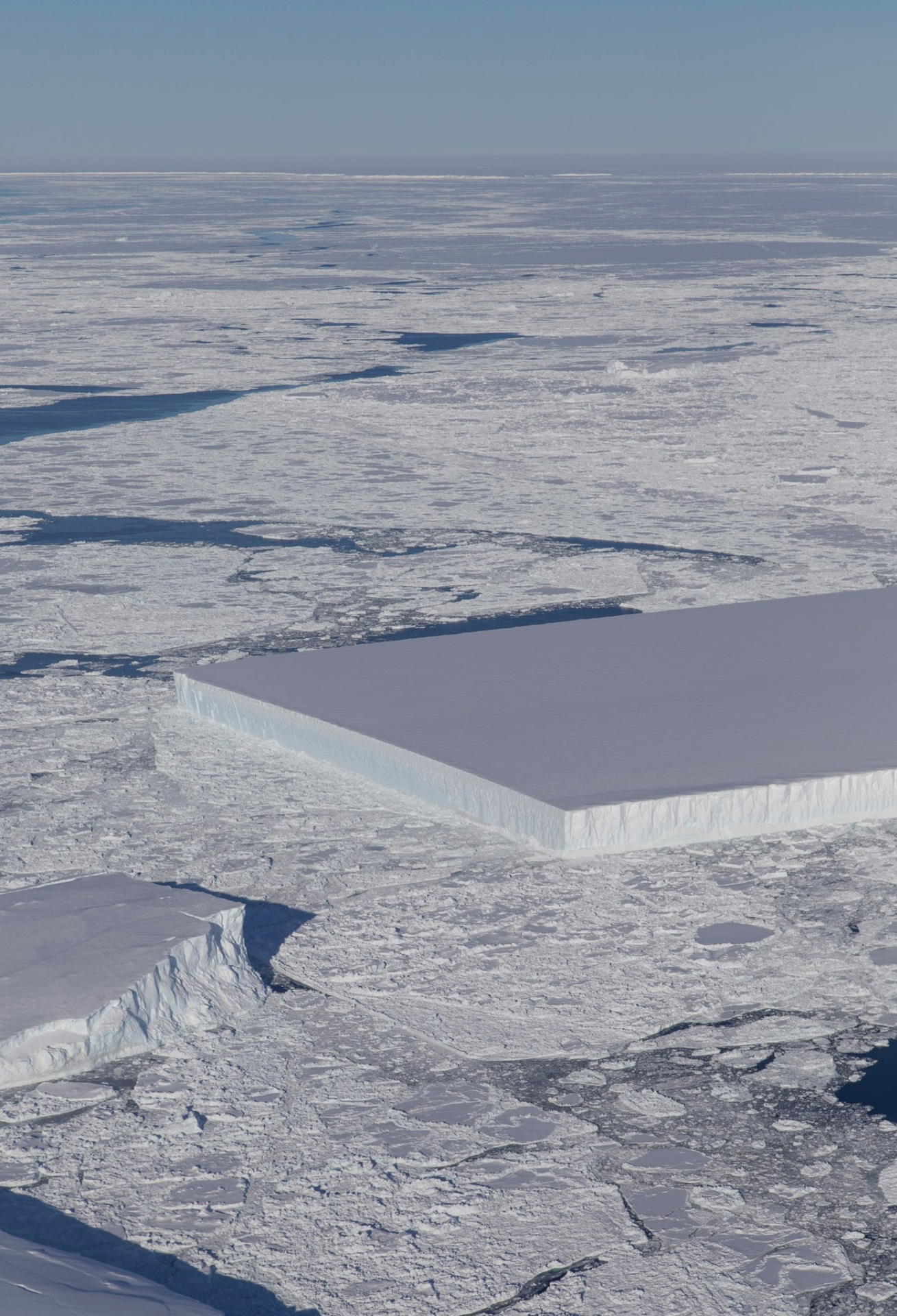 NASA figures out where weirdly square iceberg was born