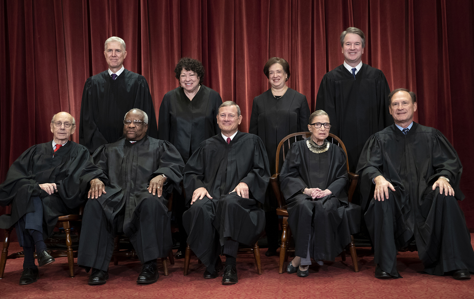 How long each Supreme Court Justice has served on the bench, and how long it took to confirm them