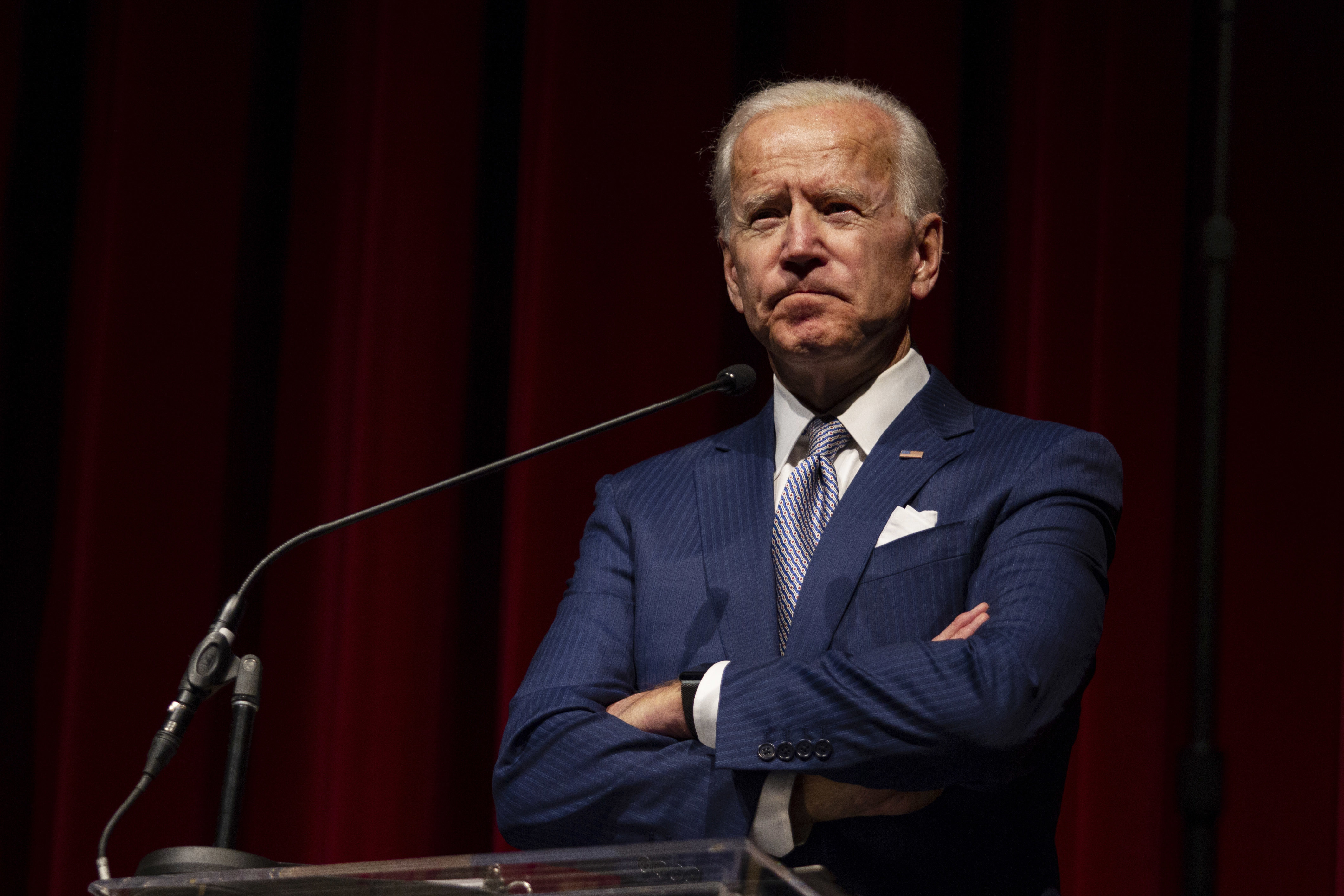 Joe Biden says he's the 'most qualified person in the country to be president'