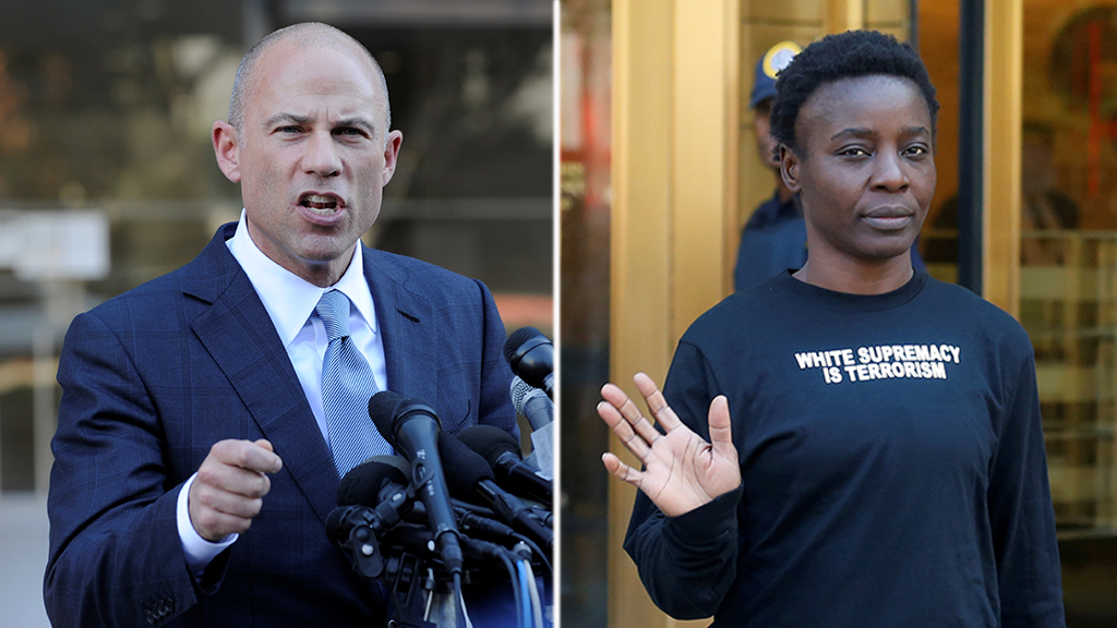 Michael Avenatti joins Statue of Liberty protester's legal team