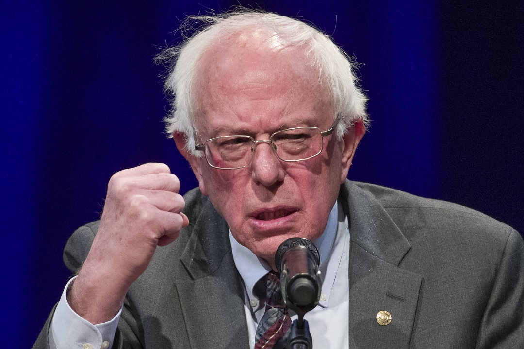Climate watchdog Bernie Sanders spent nearly $300G on private air travel in October: reports