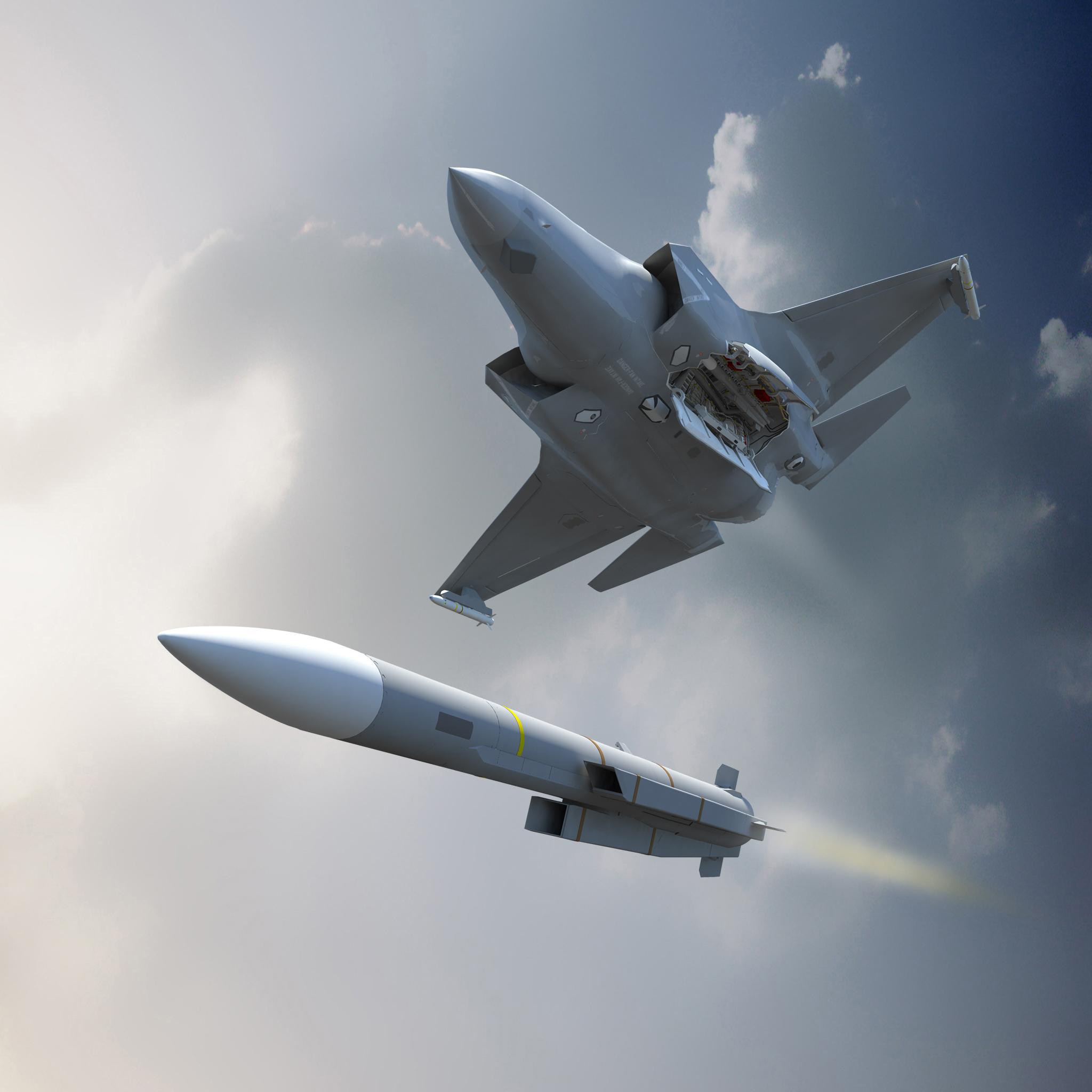 New 'no escape' Meteor missiles boost fighter jets' firepower