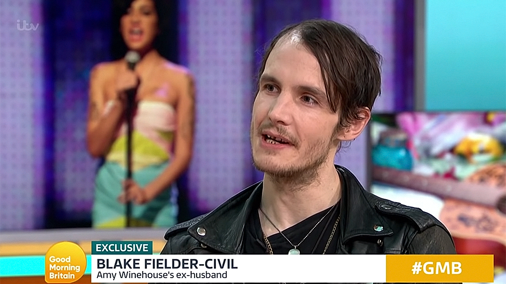 Amy Winehouse's ex-husband Blake Fielder-Civil stuns 'Good Morning Britain' audience with shocking appearance