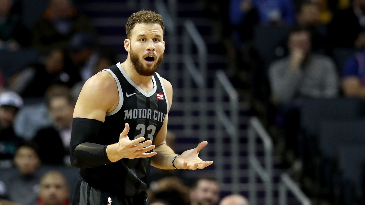 Detroit Pistons' Blake Griffin zeigt comedy-clubs machen ihn noch nervöser, als basketball