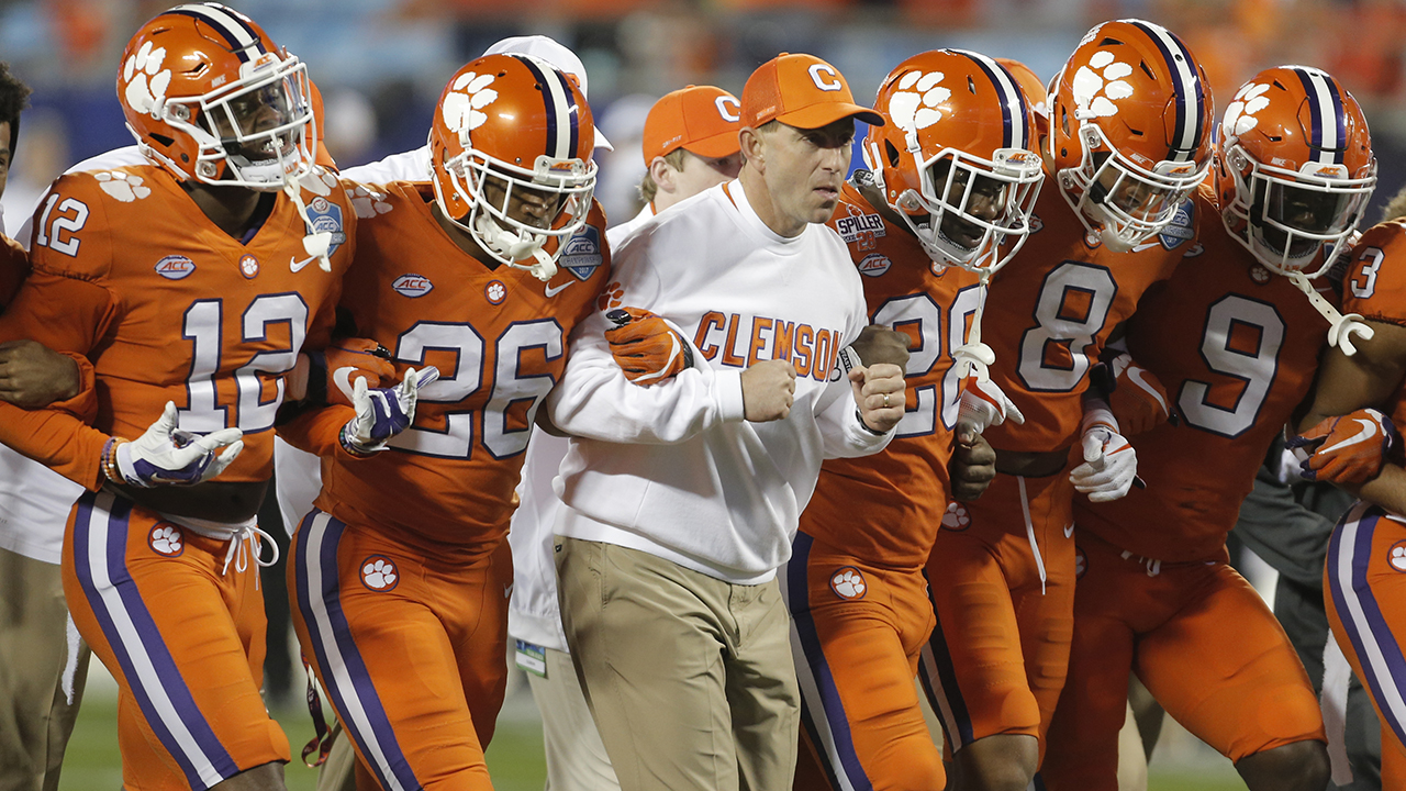 Westlake Legal Group CFB-Dabo-Swinney Clemson's Dabo Swinney responds to claim team tradition to blame for 2017 Palmetto Bowl incident Ryan Gaydos fox-news/sports/ncaa/clemson-tigers fox-news/sports/ncaa-fb fox-news/sports/ncaa fox news fnc/sports fnc article 8af3312b-cf9f-51f8-b786-ee0a9e44932f
