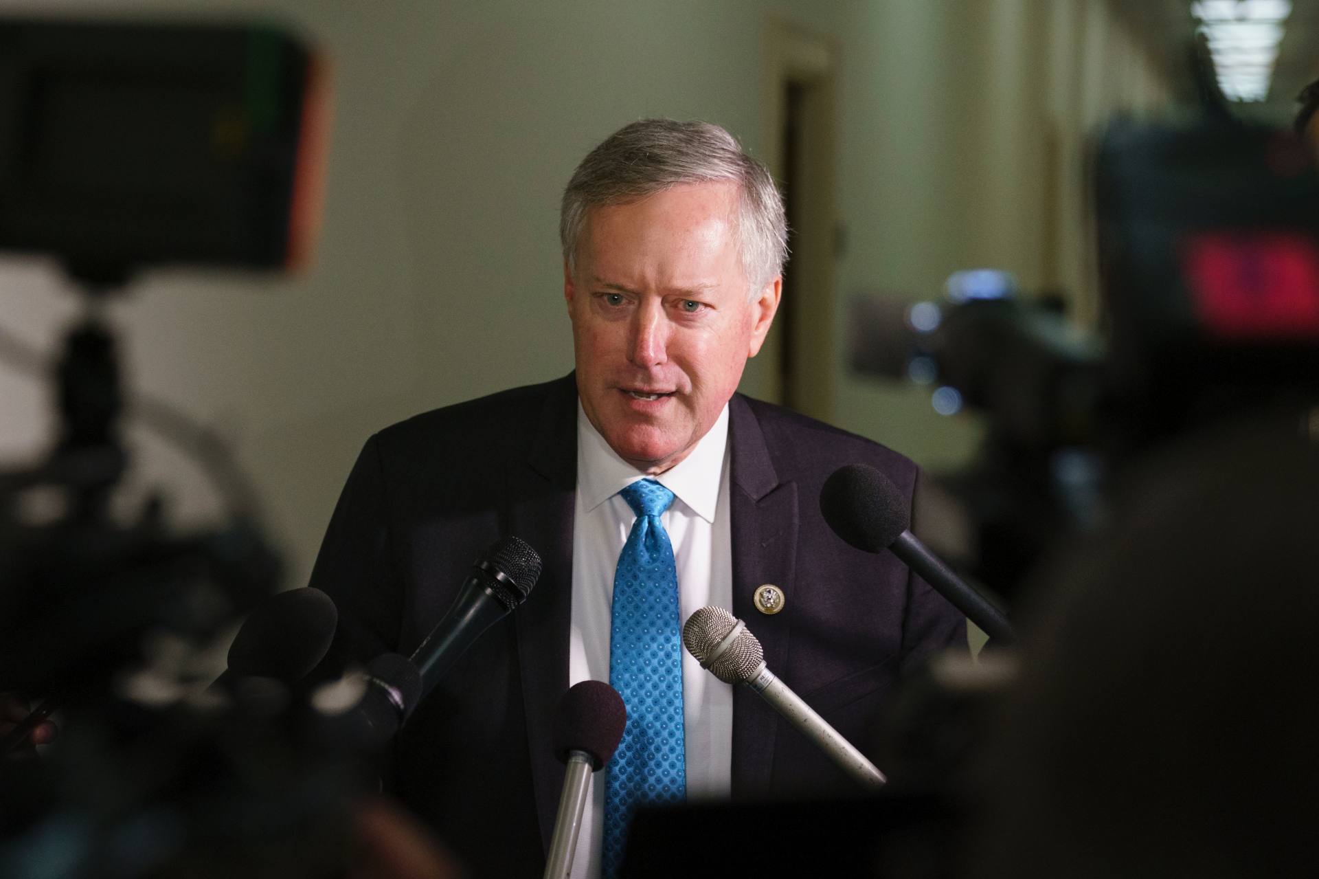Freedom Caucus chair Mark Meadows gives border wall deal a resounding 'no'