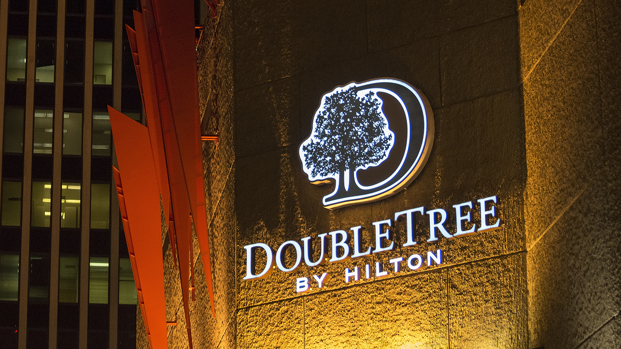 DoubleTree hotel guest files $10 million lawsuit, says he was booted for 'calling his mother while black'