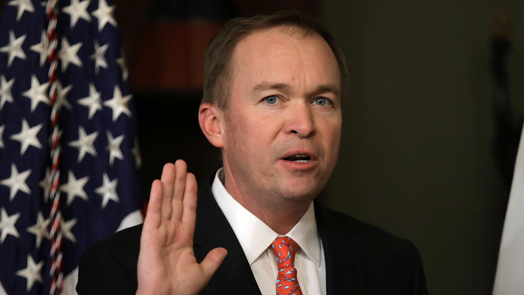 Mick Mulvaney to replace John Kelly as 'acting' chief of staff, Trump says