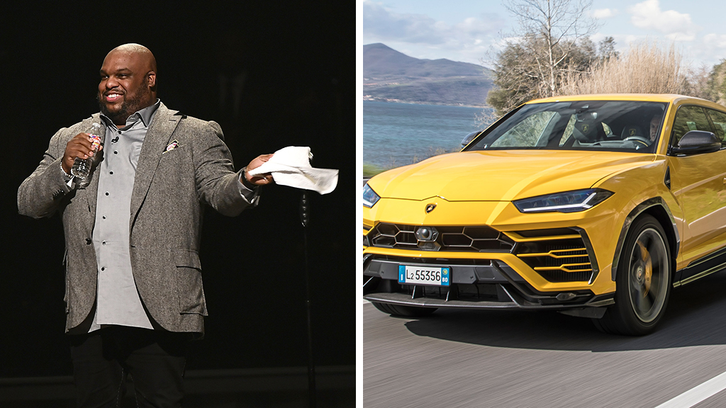 Megachurch pastor criticized for buying wife $200G Lamborghini
