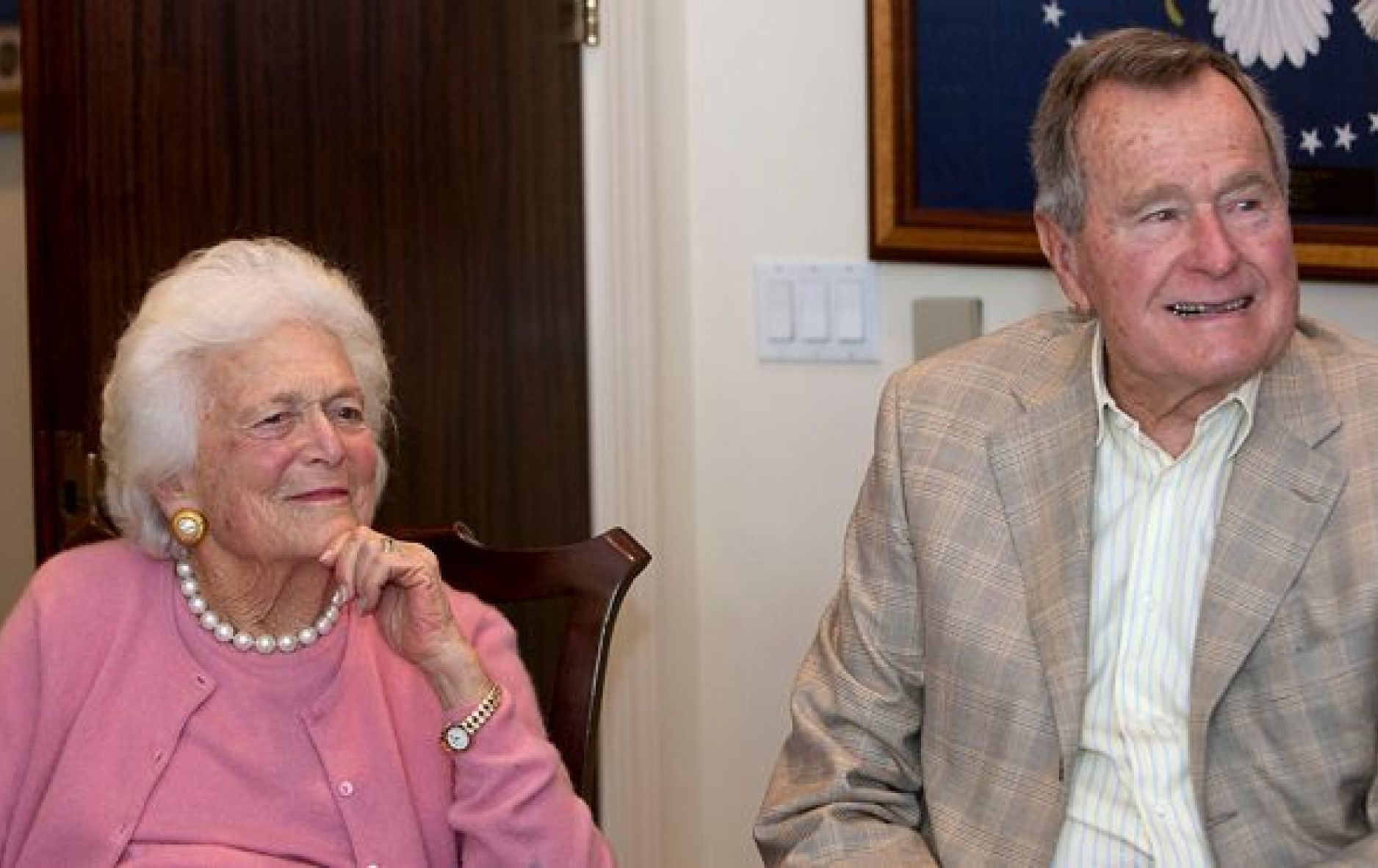 Westlake Legal Group barbara-bush-1 'Matriarch' author describes touching last moment between George and Barbara Bush Sam Dorman fox-news/topic/fox-news-flash fox news fnc/politics fnc article afc9f66e-f81c-5298-84bc-3ac74fbbba91