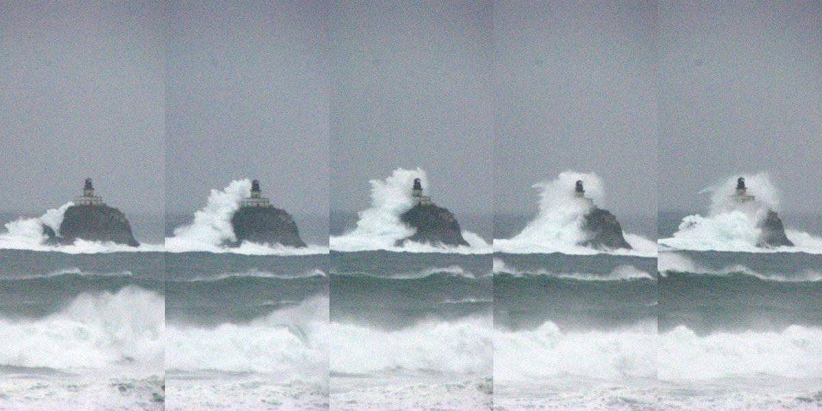 Monster waves are battering the west coast. Here's why.