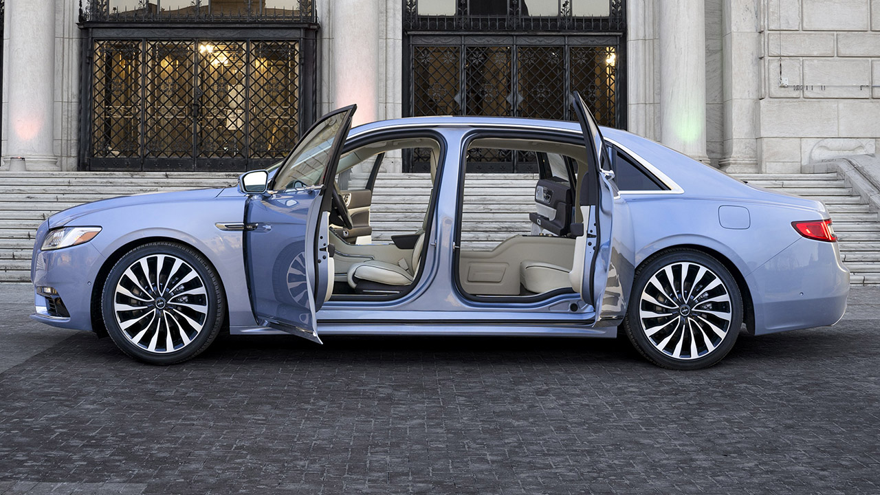 Lincoln bringing back 'suicide doors' on 2019 Continental