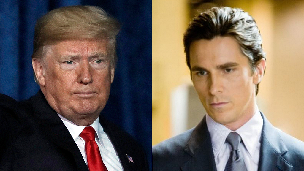 Christian Bale says Trump thought he was Bruce Wayne when he met him while filming 'The Dark Knight Rises'