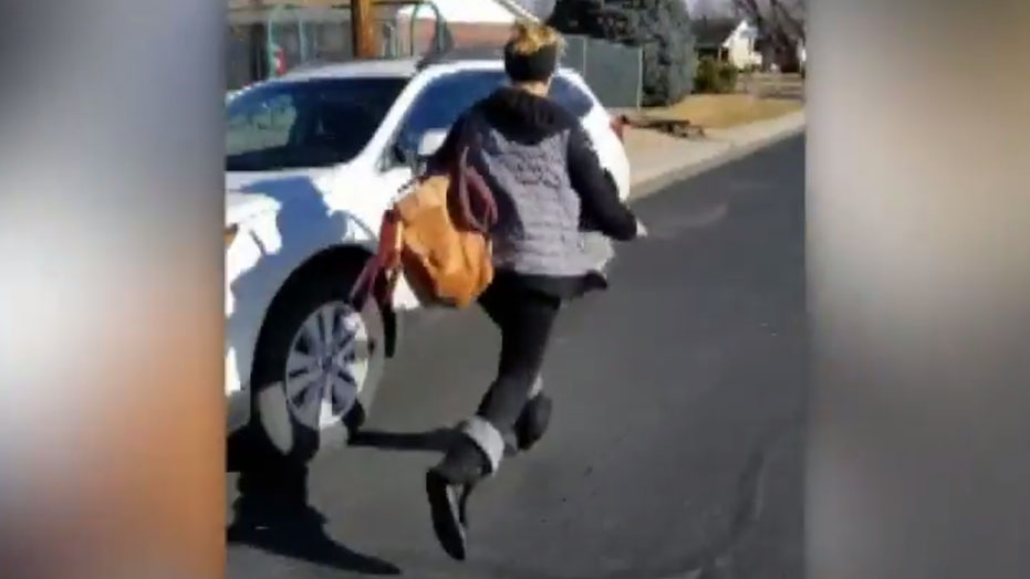 Colorado woman chases down 'porch pirate' and shames her on video