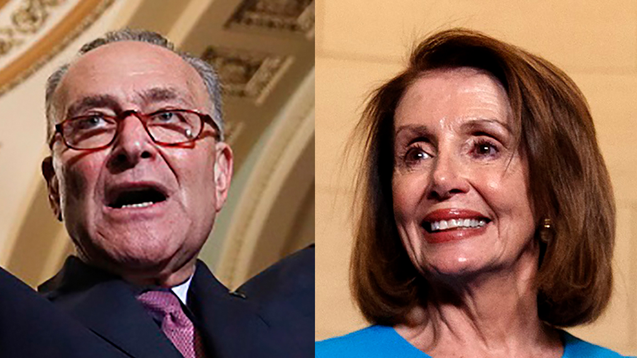 Westlake Legal Group split Pelosi, Schumer say Trump 'is flailing' after cease-fire deal Morgan Phillips fox-news/world/world-regions/turkey fox-news/world/conflicts/syria fox-news/politics/foreign-policy/middle-east fox-news/person/nancy-pelosi fox-news/person/mike-pence fox-news/person/chuck-schumer fox news fnc/politics fnc article 0b914111-ac8b-55f5-9916-c5a89c21049e