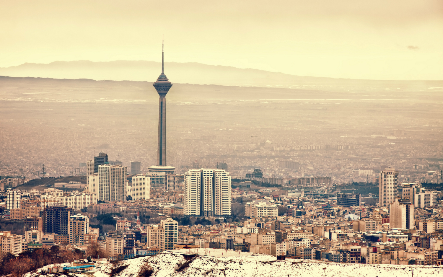 Tehran is sinking dramatically, and it may be too late to recover