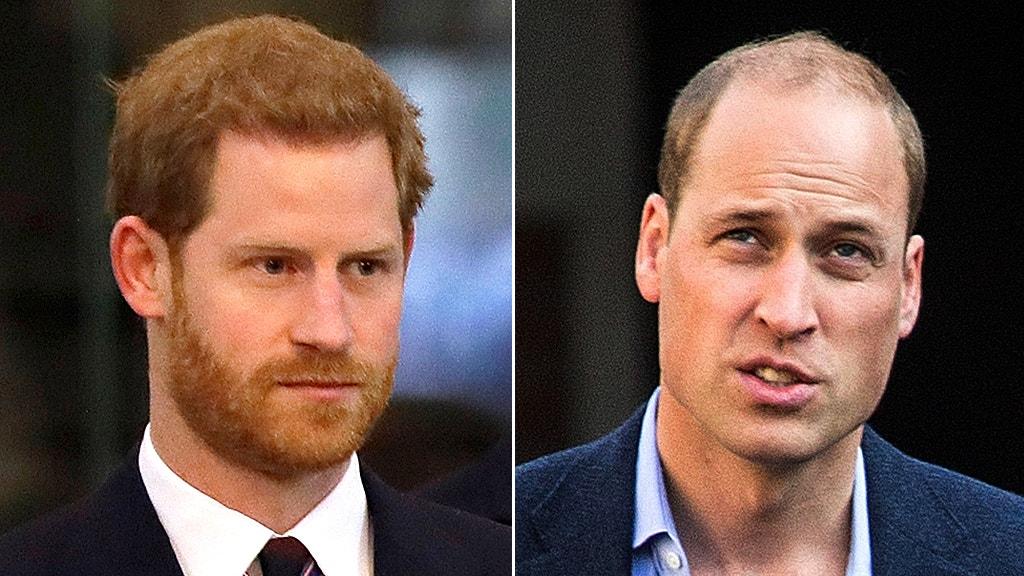 Prinz William sagt, er kann nicht 'legte meinen arm um' Bruder Harry nicht mehr: